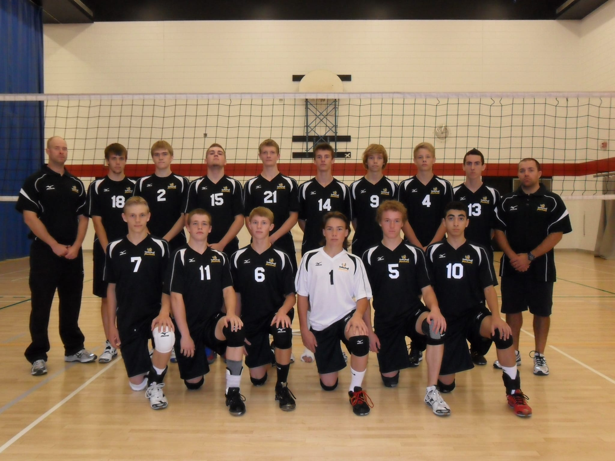 2012 Volleyball Manitoba Provincial Team Photos
