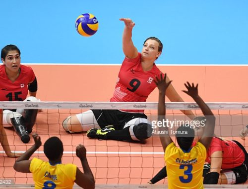 Learn To Play Sitting Volleyball
