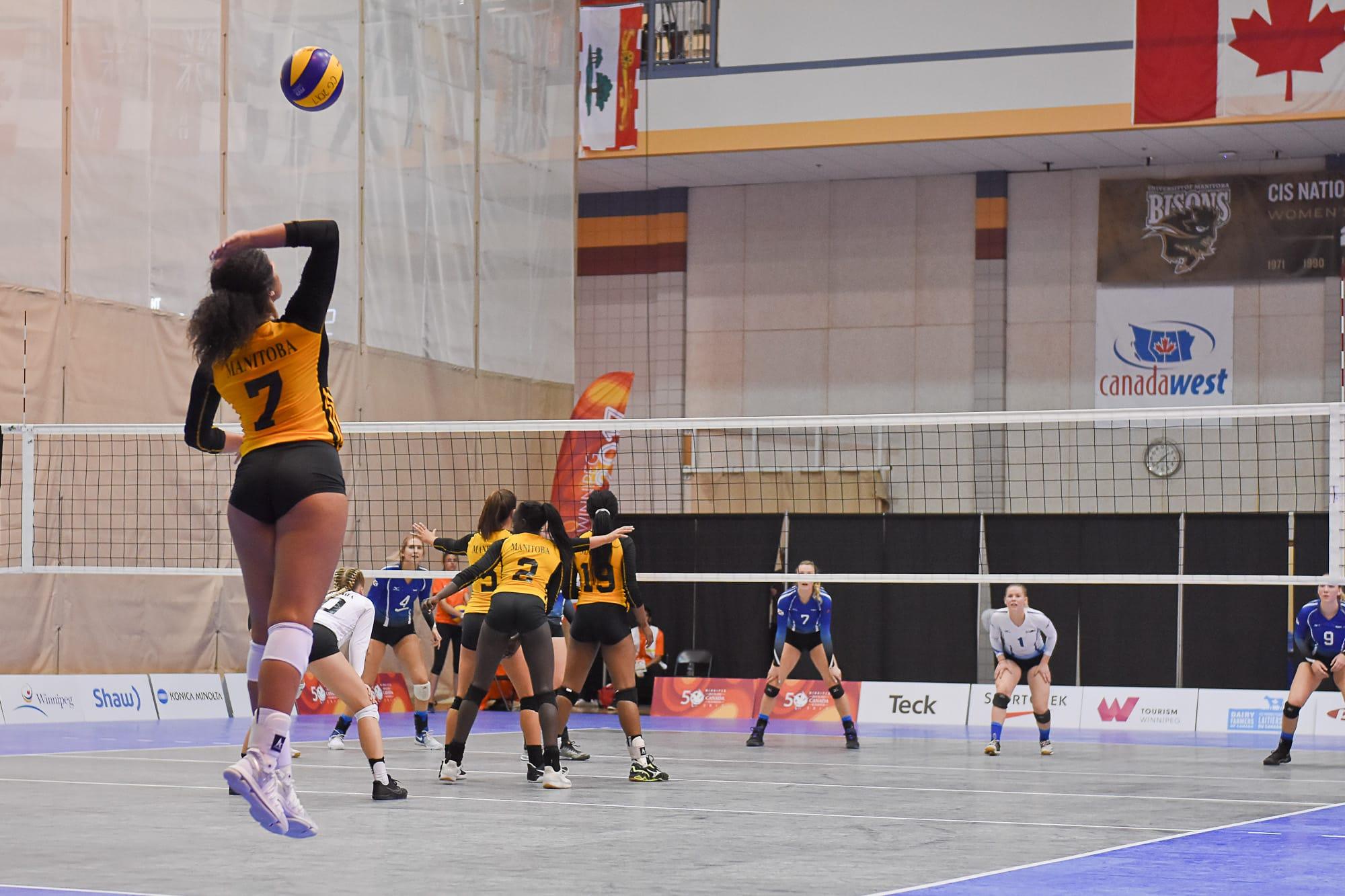 2019 Western Canada Summer Games Indoor Volleyball Manitoba